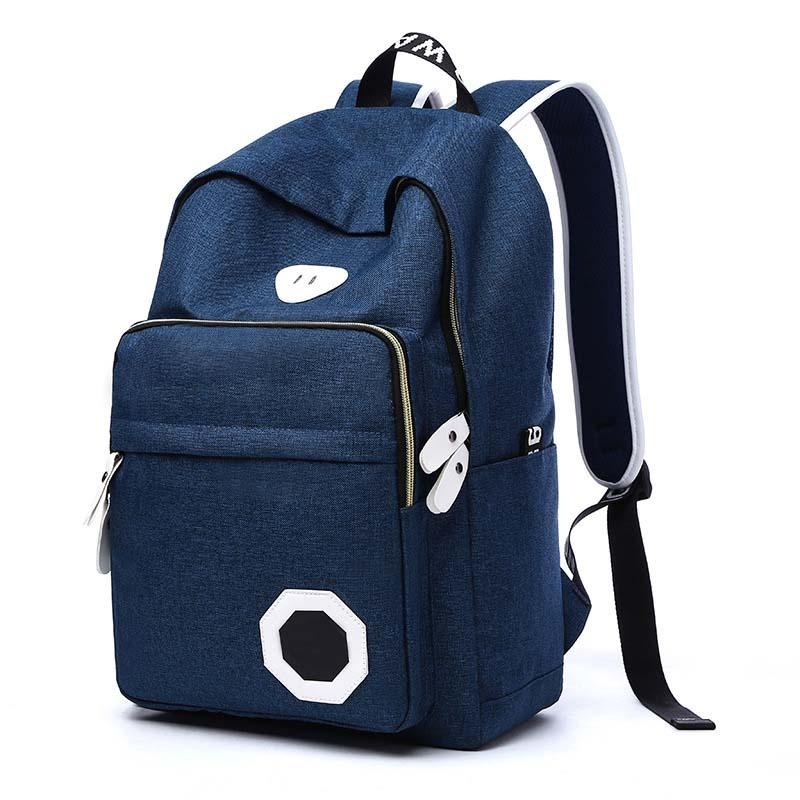New Fashion Casual Durable Backpack Universal Nylon Luggage Backpack