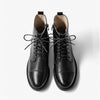 New autumn and winter retro leather Martin boots wild low-heel short boots