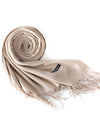 2019 new men's cashmere warm tassels solid color scarf fashion wild air conditioning shawl