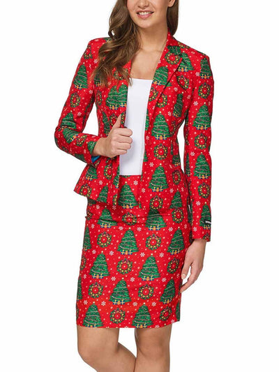 2019 autumn and winter new Christmas jacket small suit fashion suit