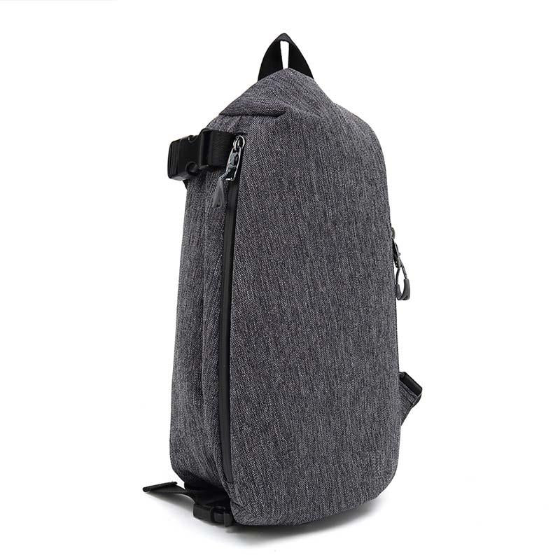 New retro shoulder bag large capacity simple wild casual chest bag outdoor sports backpack