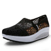 Openwork canvas shoes lace rocking shoes