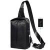 New Casual Men's Chest Bag Simple Travel Shoulder Messenger Bag