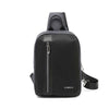Stylish new single-shoulder cross-body bag travel large capacity USB chest package door cycling sports cross-chest bag man