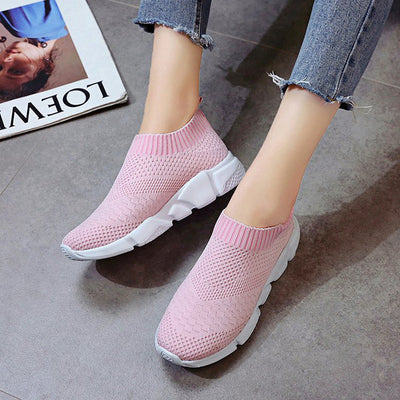 Casual Harajuku wild 2019 autumn new breathable mesh lazy slip-on sports shoes