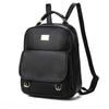 2020 new Korean style PU leather soft face fashion women's backpack