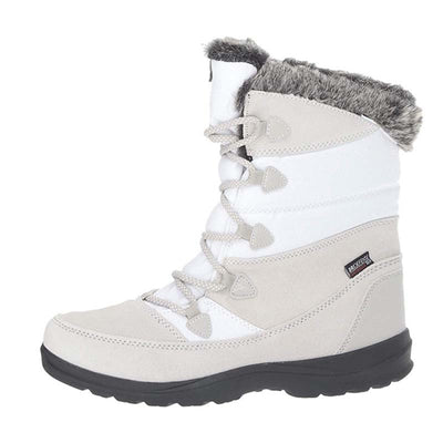Winter plus velvet new leather warm cotton shoes short tube thick snow boots