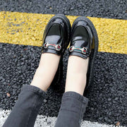 Vintage straps casual wild with small shoes