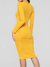Autumn and winter new women's sexy fashion slim long dress