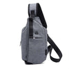 Multifunctional cross-shoulder men's chest bag