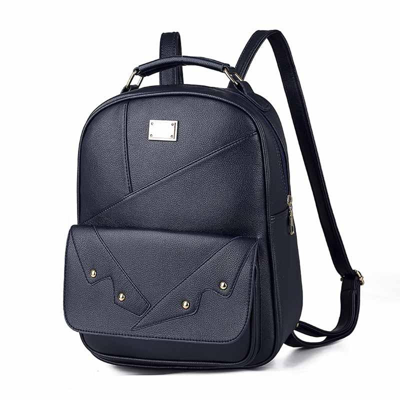 2020 New College Style Soft Face Women's Backpack