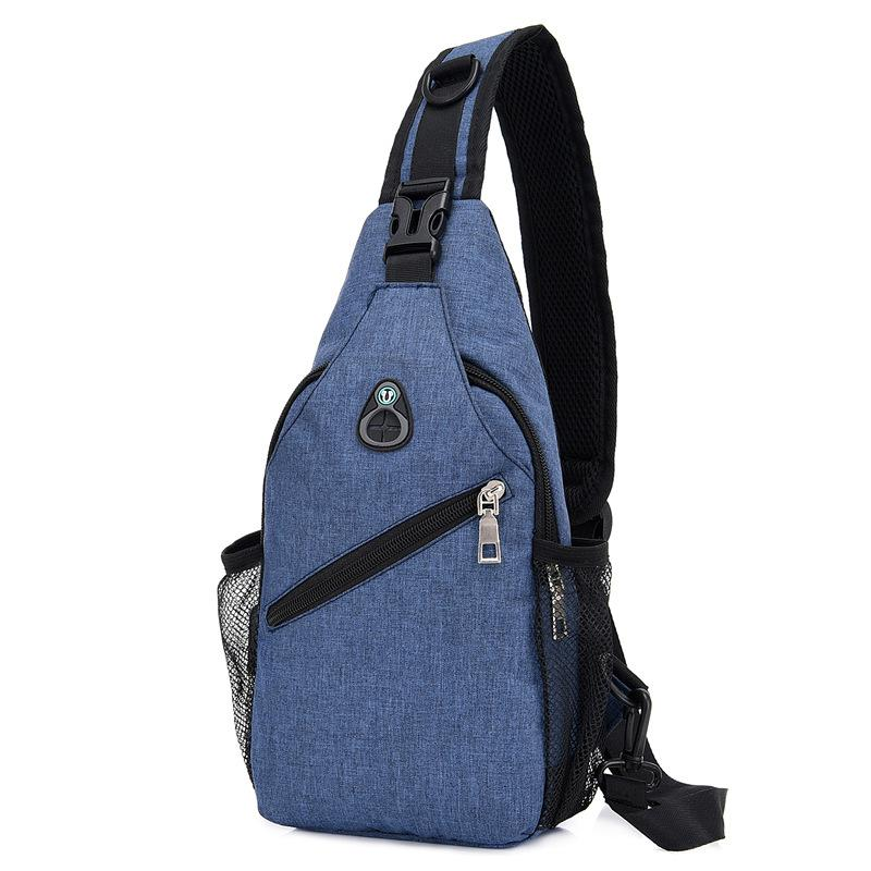 2020 new casual shoulder bag men bag messenger bag small bag backpack wild multifunctional outdoor pocket