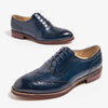 Women's spring brogue carved shoes college style flat lace-up shoes