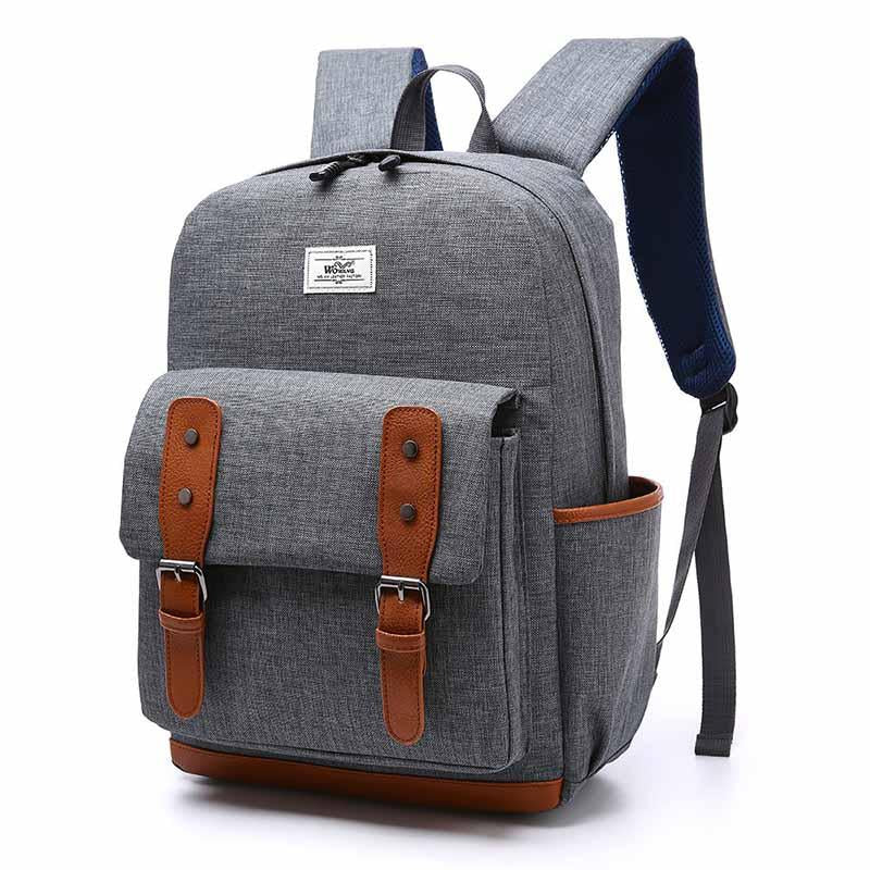 New Nylon Computer Backpack Men and Women Students Backpack Outdoor Leisure Travel Backpack