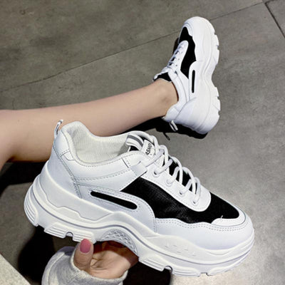 2019 autumn new Korean casual wild mesh wear-resistant ladies sneakers