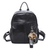 2020 New Retro Style Pure Color Soft Face Women's Backpack