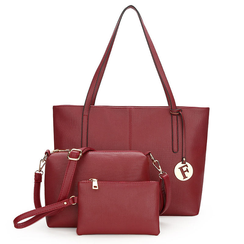 2020 new European and American style candy color suit women's handbag