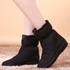 2019 new tube casual snow boots warm non-slip plus velvet cotton boots-2