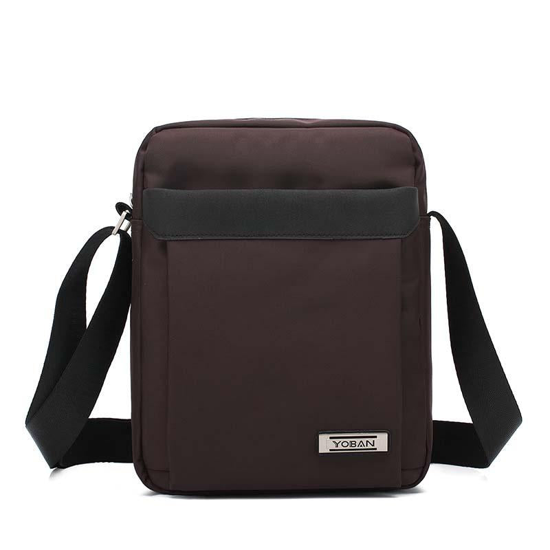 Men's business shoulder bag Oxford waterproof portable Ipad bag cross-bag man