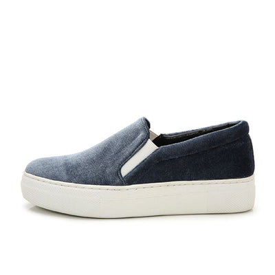 Suede flat bottom velvet face wild lazy loafers