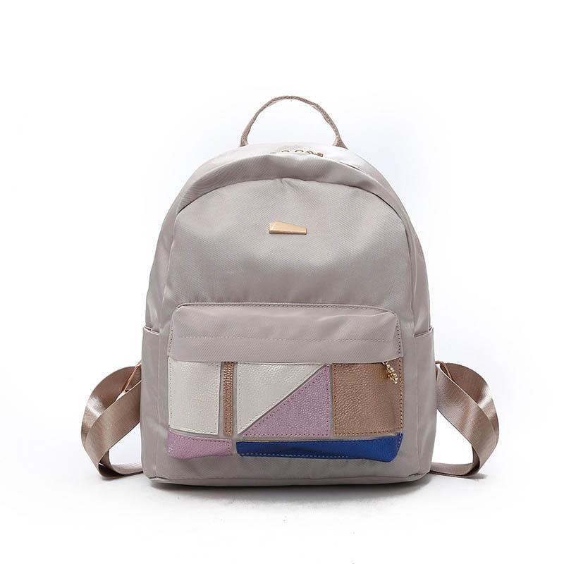 2020 New Japanese Style Nylon Candy Color Women's Backpack