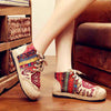 Embroidered ethnic wind cotton and linen anti-slip Chinese clothing shoes