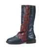 2019 fashion new flat bottom strap casual wild rider boots