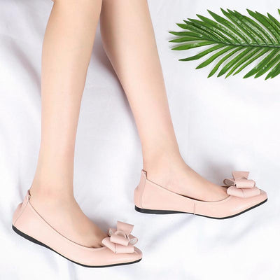Flat casual ballet soft women's shoes