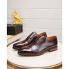 2020 business casual first layer of leather men's shoes