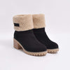 autumn and winter casual thick heel cuffed tube waterproof snow boots