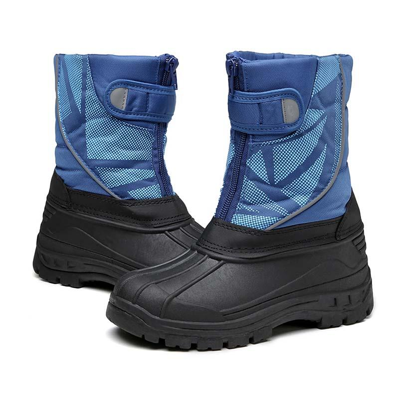 2019 winter new plus velvet warm non-slip comfortable children snow boots