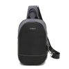 Travel waterproof USB multifunctional charging cross-body bag business wear - resistant cross-body single-shoulder bag
