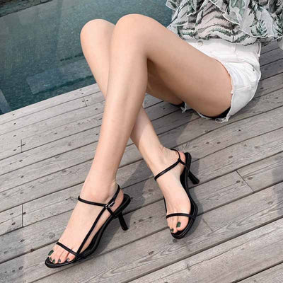 One strip non-slip sandals and slippers