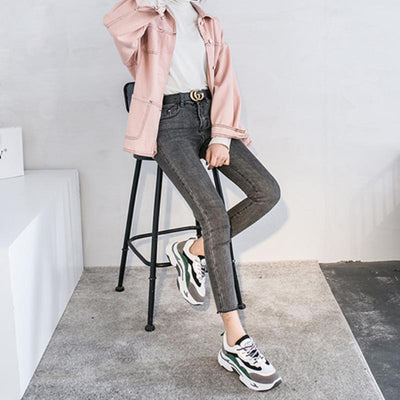 2020 spring new casual wild panda ladies sneakers