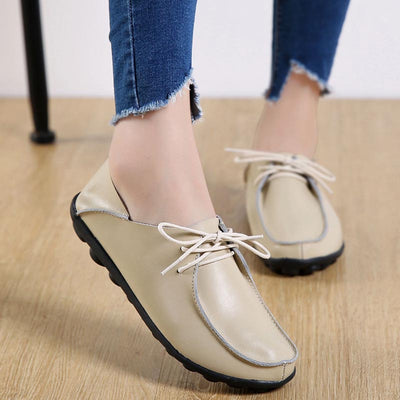 Flat bottom strap large size peas shoes
