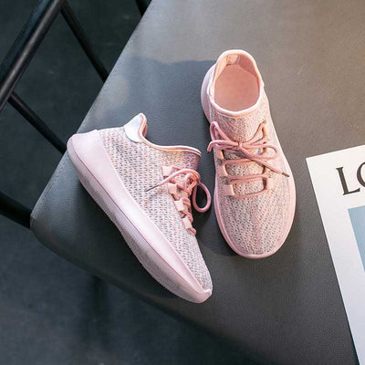 New wild breathable non-slip casual women's shoes shallow mouth round head breathable sneakers