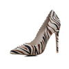 Sexy fashion pointed high heel women's shoes