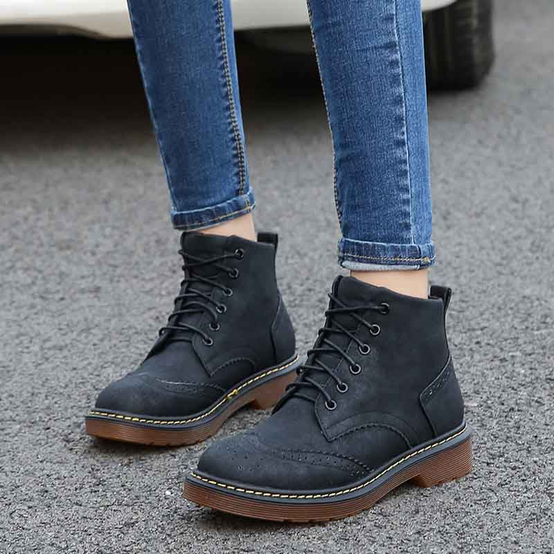 2019 autumn new Martin boots short tube casual women's boots Europe and the United States wind Chelsea boots