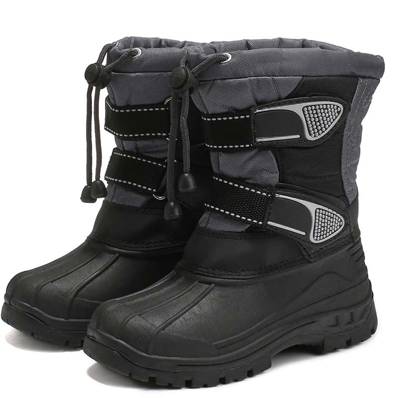 Winter snow boots plus cotton warm and comfortable non-slip children's cotton shoes