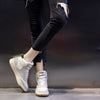 2020 spring new Korean wild high-top plus velvet flat women's sneakers