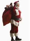 Santa Claus costume gold velvet suit male Christmas costume adult role playing