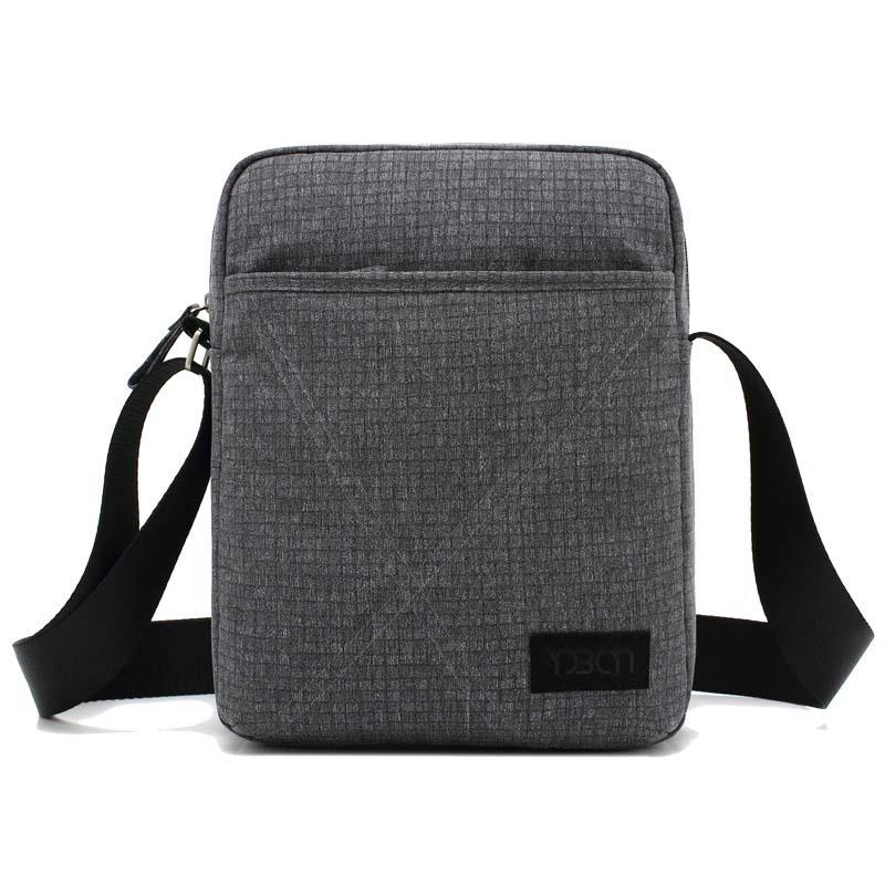 2020 new Korean style single-shoulder bag men's simple waterproof wear - resistant cross-body bag business bags