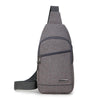 New Trend Outdoor Leisure Diagonal Handbag Durable Canvas Men's Chest Bag