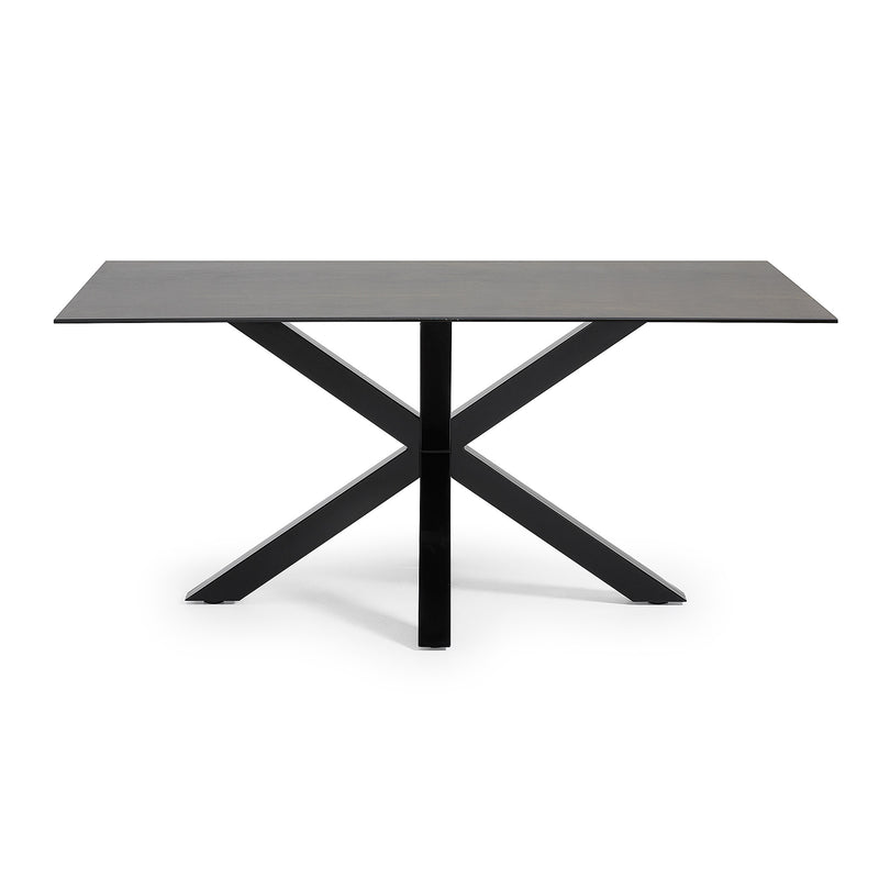 La Forma Arya Dining Table Black