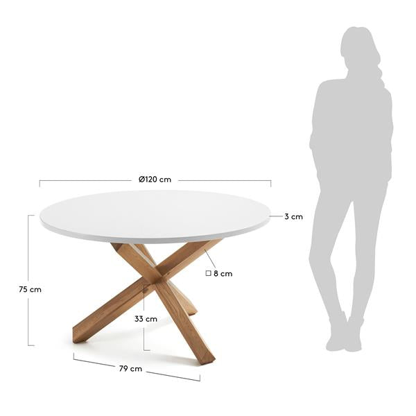La Forma Nori Round Dining Table