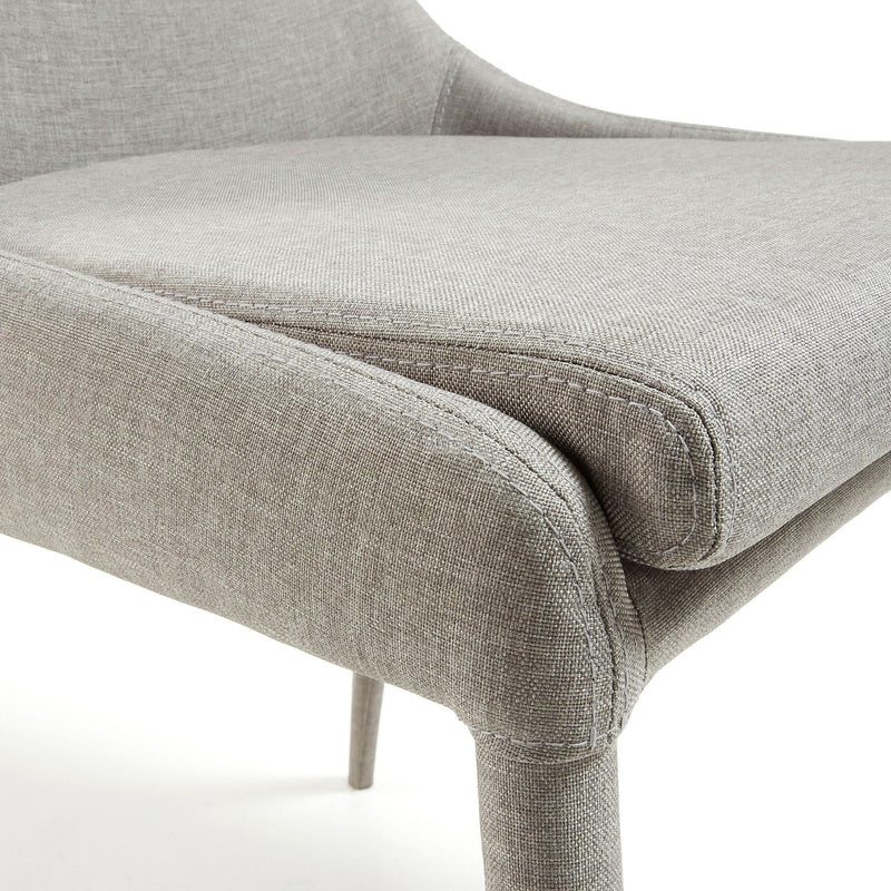 La Forma Dant Chair Eco NoBuck Light Grey