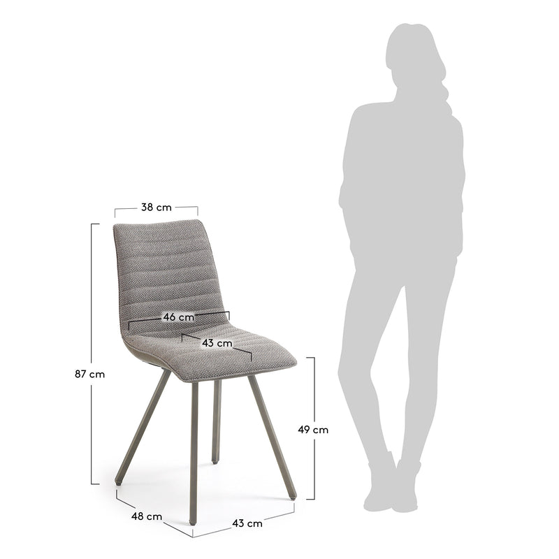 La Forma Trass Chair Taupe