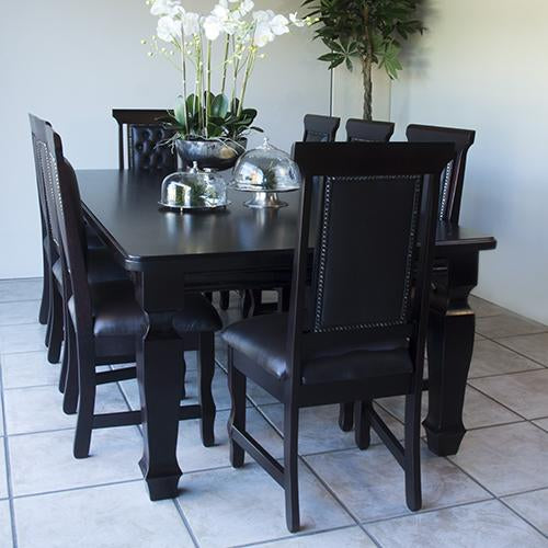 Wood Art Dining Set - 9 Piece