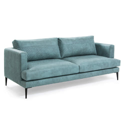 La Forma Vinny 3 Seater Sofa Green