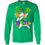 Unicorn Dabbing girl Irish